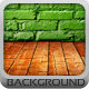 Brick Room Background - GraphicRiver Item for Sale