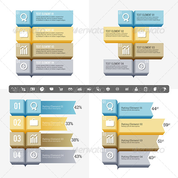GraphicRiver Abstract Book Infographic 7983953