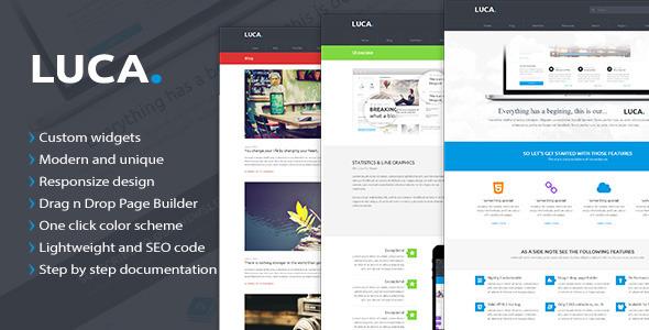 ThemeForest Luca Premium Wordpress Theme 7985825