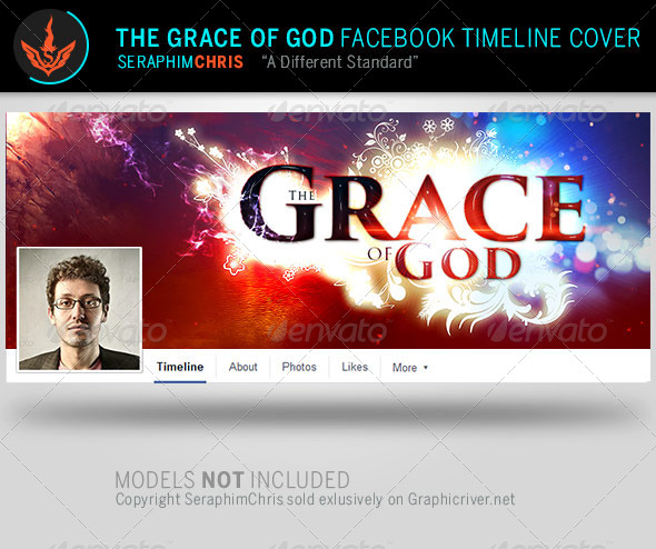 GraphicRiver Grace of God Church Facebook Timeline Template 7985876