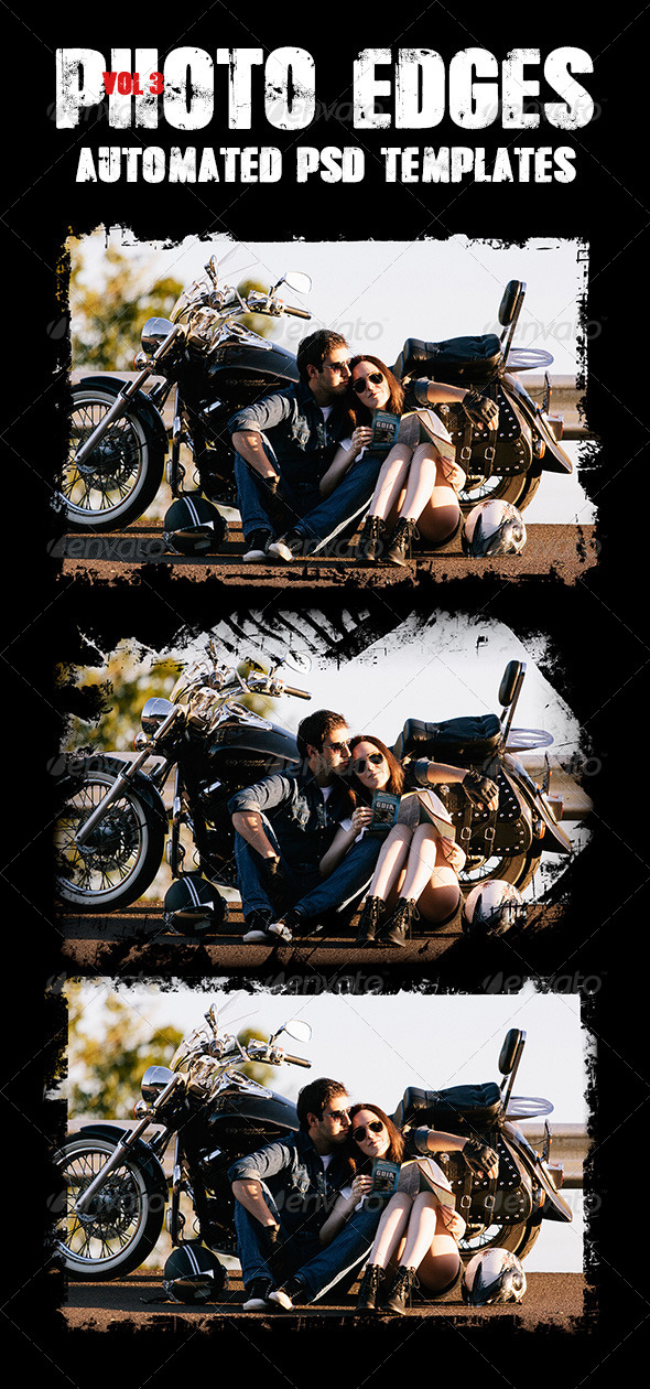 GraphicRiver Cool Photo Edges Automated PSD Templates Vol 3 7986019