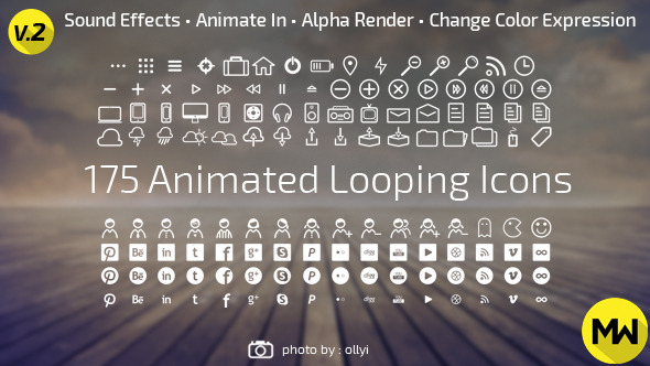 175 Animated Looping Icons