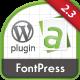 FontPress - Font Manager Plugin - CodeCanyon Item for Sale