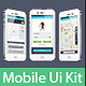Set of Mobile UI - GraphicRiver Item for Sale
