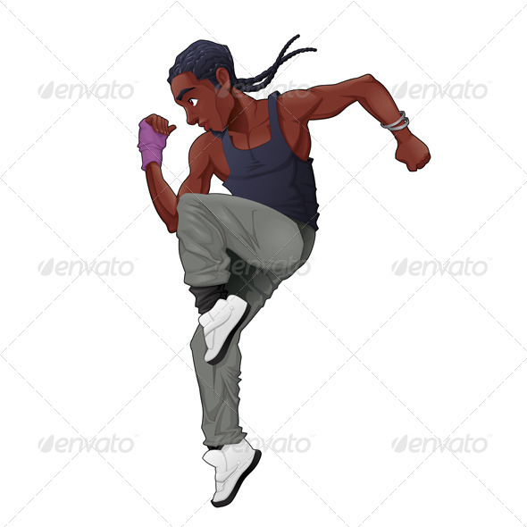 GraphicRiver Breakdancer 7986488