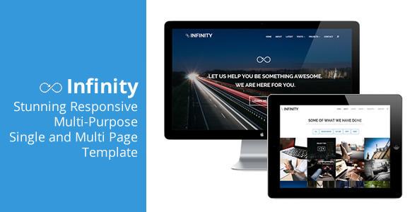 Infinity - Flexible Responsive Theme - Portfolio Creative