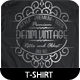 Tees Vintage Volume 01 - GraphicRiver Item for Sale