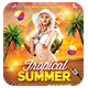 Tropical Summer Party | Flyer Template - GraphicRiver Item for Sale