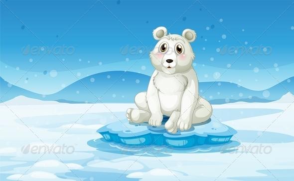 GraphicRiver Polar Bear 7986847