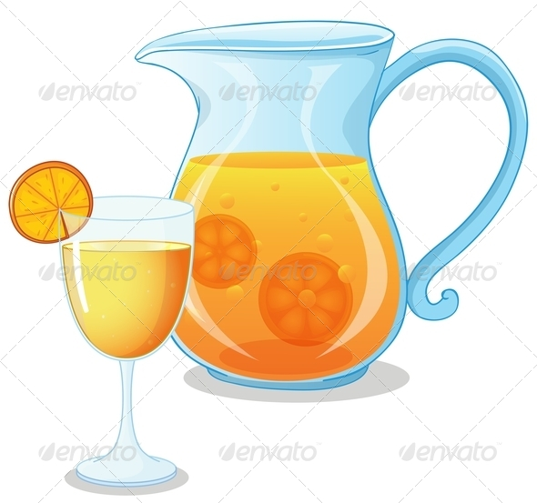 GraphicRiver Pitcher of Juice 7987178