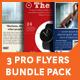 3 Professional Flyers Bundle Pack Set - GraphicRiver Item for Sale