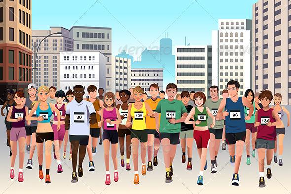 GraphicRiver Marathon 7987388