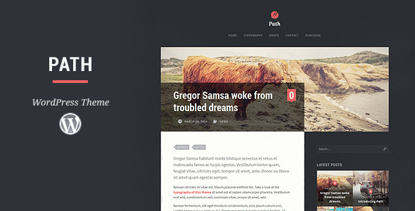 Path WordPress Theme - Personal Blog / Magazine