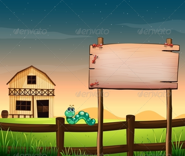 GraphicRiver Barnhouse with Wooden Panel 7987596