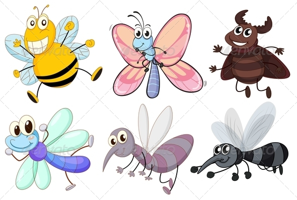 GraphicRiver Insects 7987601