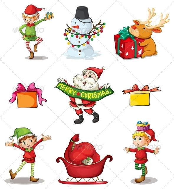Nine Different Christmas Decors