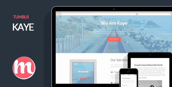 ThemeForest Kaye Business Tumblr Blog 7372153