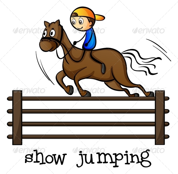 GraphicRiver Show Jumping 7987823