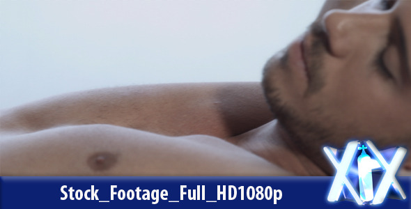 VideoHive Sleeping Man 7988038