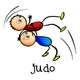 Stickmen Doing Judo - GraphicRiver Item for Sale