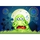 A Three-Eyed Monster Crying at the Carnival - GraphicRiver Item for Sale