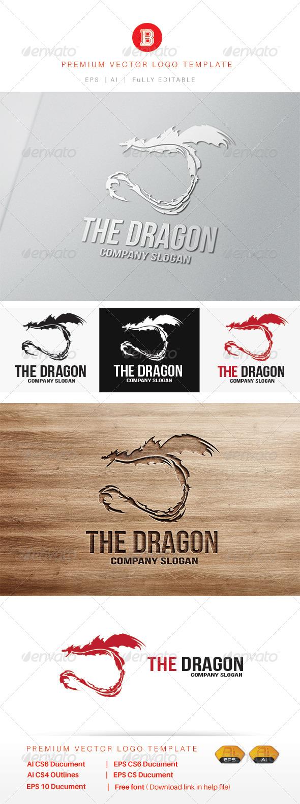 GraphicRiver The Dragon V2 7988535