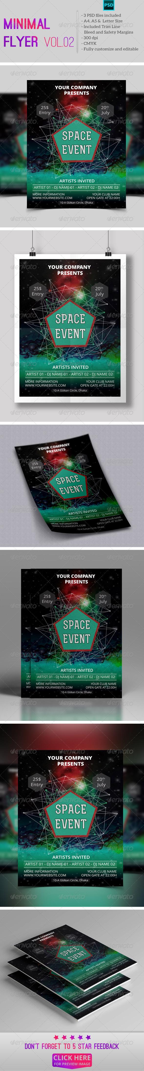 GraphicRiver Minimal Flyer Vol.02 7988546