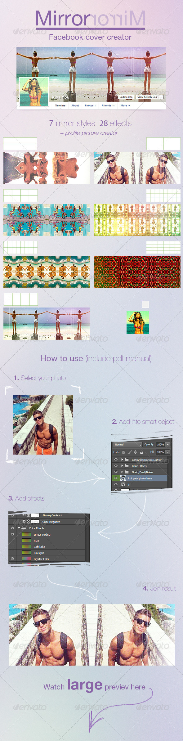 GraphicRiver Mirror Facebook Cover Creator 7988559