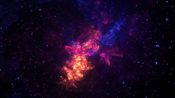 Space Nebula Multicolor 2