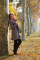 Shot of young woman in the park - PhotoDune Item for Sale