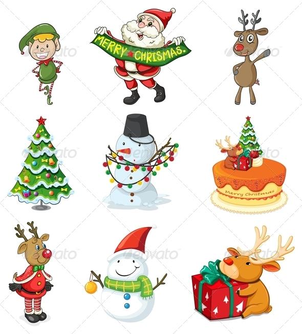 GraphicRiver Christmas Designs 7988581