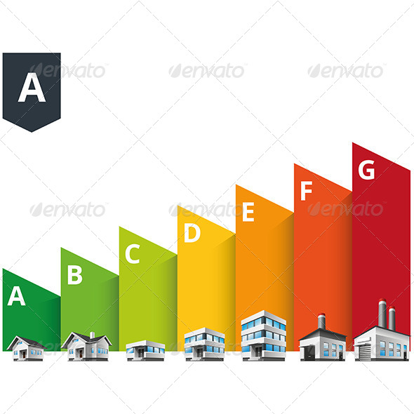 GraphicRiver Building Energy Efficiency Classes Label 7988613