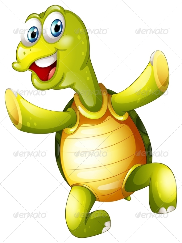 GraphicRiver A Smiling Turtle 7988910