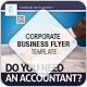 Corporate Business Flyer - Financial Accountancy - GraphicRiver Item for Sale