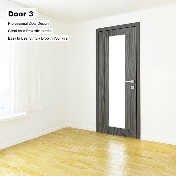 Door 3 - 3DOcean Item for Sale