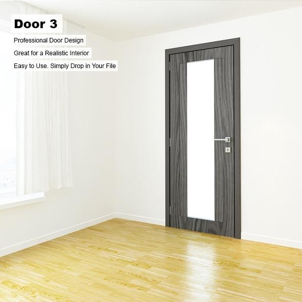 3DOcean Door 3 7989025