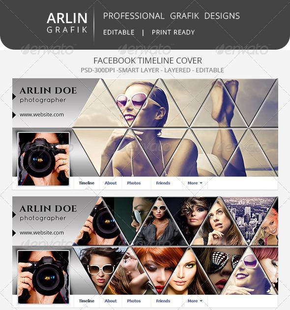 GraphicRiver Facebook timelineline cover 7989058