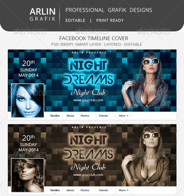 GraphicRiver Facebook Timeline Covers 7989075