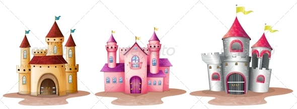 GraphicRiver Three Castles 7989078