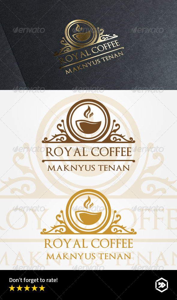 GraphicRiver Royal Coffee Cafe 7989100