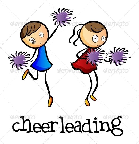 GraphicRiver Cheerleaders Dancing 7989147