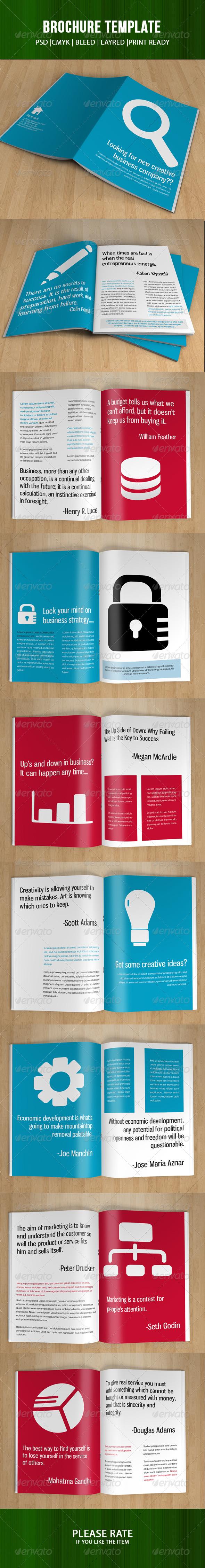 GraphicRiver Creative Business Brochure-V54 7989175