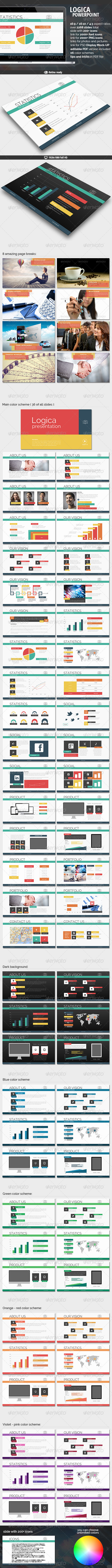 GraphicRiver Logica Powerpoint Presentation 7989224