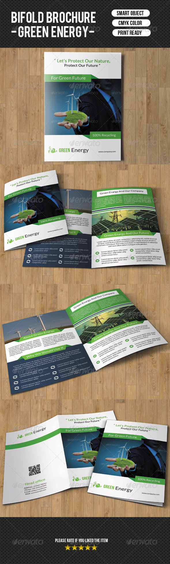GraphicRiver Green Energy Brochure-V55 7989230
