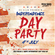 4th of July American Independence Day Flyer - GraphicRiver Item for Sale