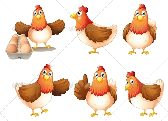 GraphicRiver Six Fat Hens 7989270