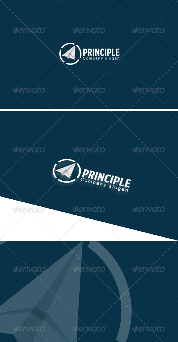 GraphicRiver Principle Logo Template 7989276