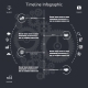 Timeline Infographics Symbols  - GraphicRiver Item for Sale