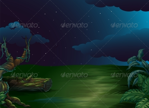 GraphicRiver Natural Night Scene 7989362