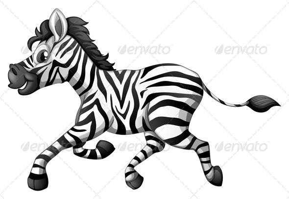 GraphicRiver Zebra Running 7989407